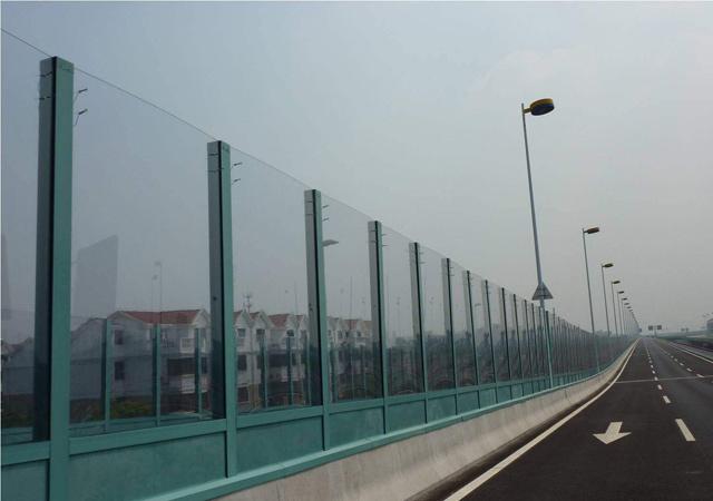 透明板声屏障